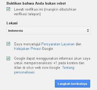 daftar di google gmail