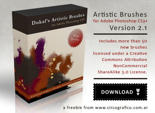 Dukal Artistic Brushes Pack 2.1