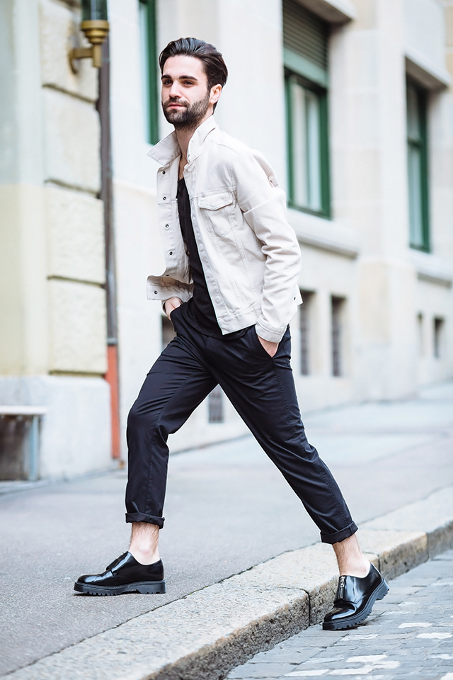 HM, smira fashion, Stéphane Mirao, contest, concours mode, selected by david beckham, collection, sandro paris, street style, monica andrea hug, chic in zurich, male model, swiss model, swiss fashion, blog, men style,