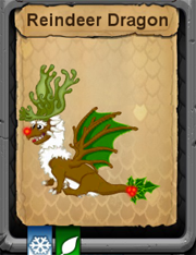 Adult Reindeer Dragon
