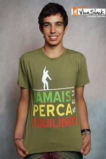 Graphic25 - Coleção Viva Slack - Slackline T-Shirts