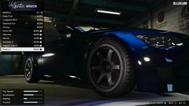 GTA 5 Tuning Car