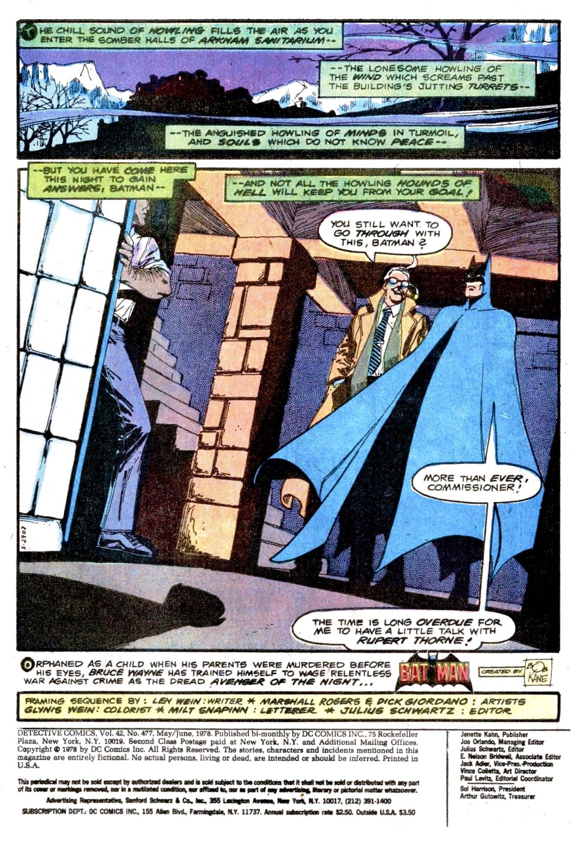 Detective Comics (1937) Issue #477 Page 3