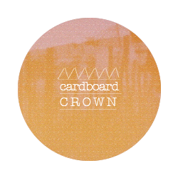 cardboard /\/\/\/\ crown