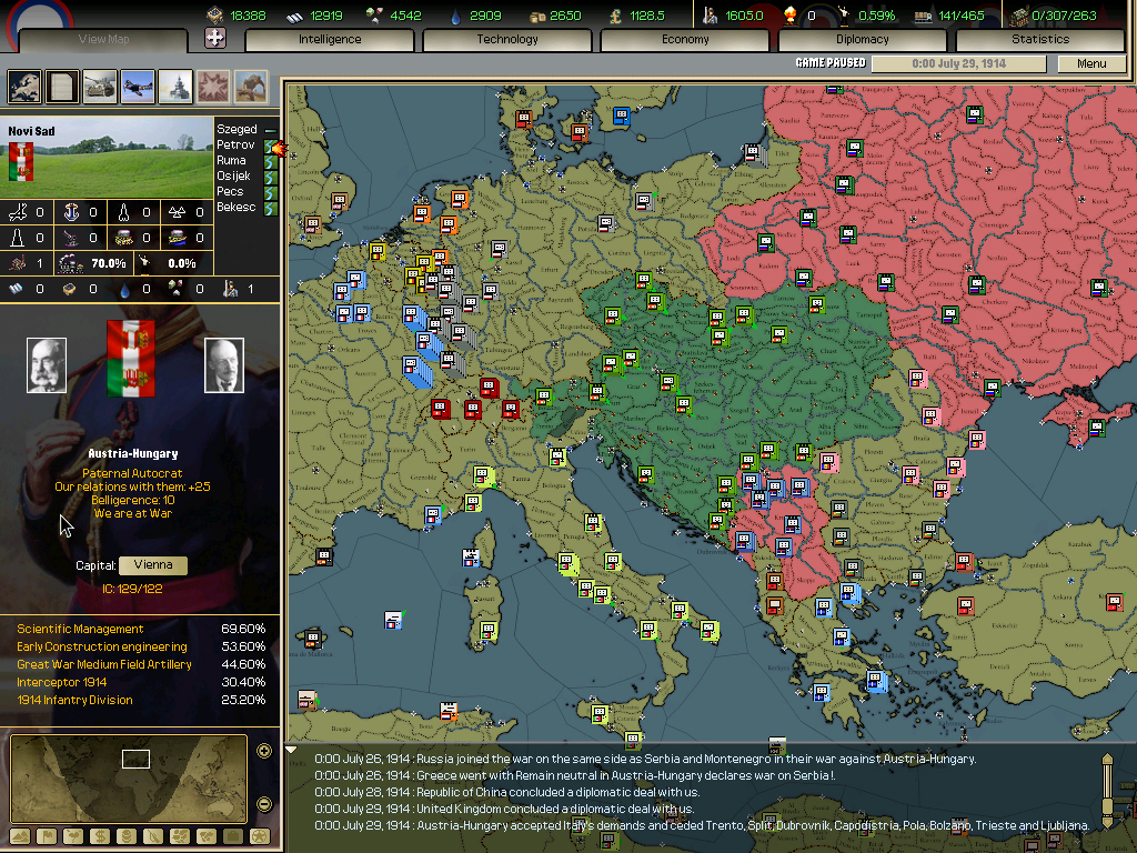 Hearts of Iron II – Game Review (PC) | Armchair General | Armchair ...
