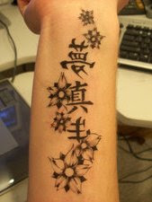 Cool Japanese Cherry Blossom Tattoo On Wrist Picture 9