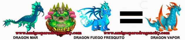 como obtener el dragon vapor en dragon city formula 3