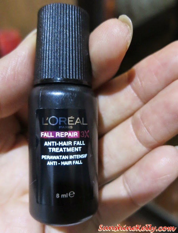L'Oreal Paris Fall Repair 3X anti-hair fall treatment, L'Oreal Paris Fall Repair 3X, anti-hair fall treatment, The Power of Treatments with L'Oreal Paris Pampering Session , L'Oreal Paris, Pampering Session, Power of Treatments