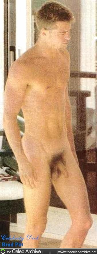 Brad Pitt Nude Penis
