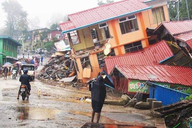 Banjir Myanmar, Muslim Rohingya Ditolak Aparat Mengungsi Ketempat Aman