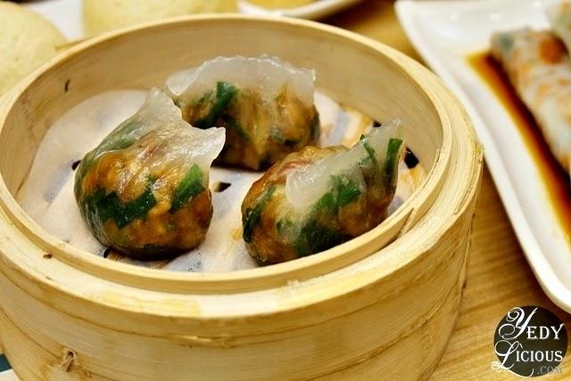 Spinach Dumpling with Shrimp at Tim Ho Wan SM Megamall