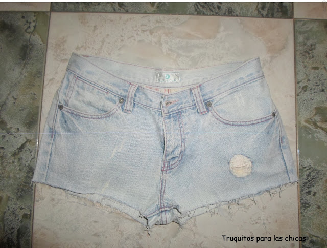 short vaqueros diy