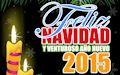 Postal navideña con muñecos de nieve y mensaje de Feliz Navidad y Próspero Año nuevo 2015