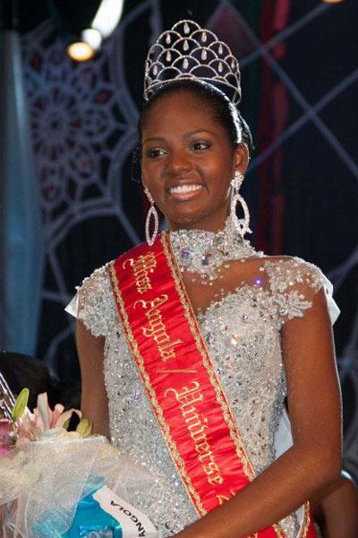 Miss Angola Universe 2013 winner Vaumara Rebelo