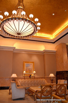 luxurious furniture in Abu Dhabi's Emirates Palace