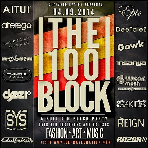 100 Block-Fashion & Art Festival