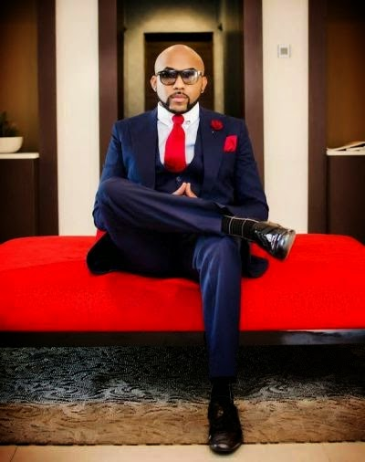 R &B singer Banky W releases new images dressed up in outfit by Mai Atafo Inspired for the Ciroc campaign .