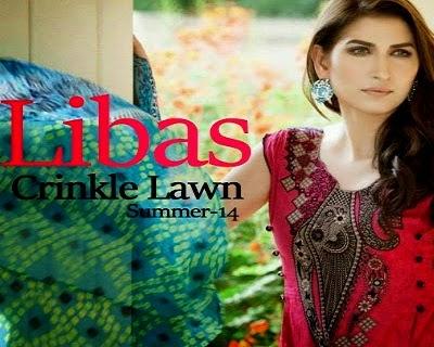 Libas Crinkle Chiffon Lawn Collection