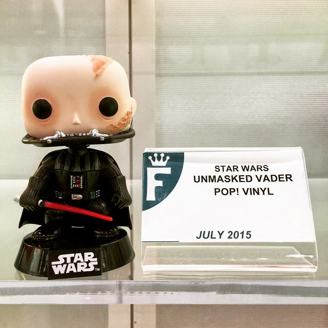 Toy Fair 2015 1st Look: Unmasked Darth Vader Pop! Star Wars Vinyl Figure by Funko