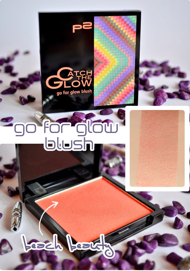 Review p2 Catch The Glow go for glow blush BEACH BEAUTY
