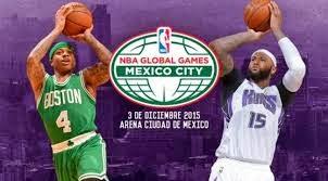 NBA Mexico 2015 boletos baratos en primera fila