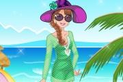 Sahilde Kumsalda Moda Oyunu