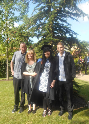 Graduation at Staffordshire University - Completing DTLLS