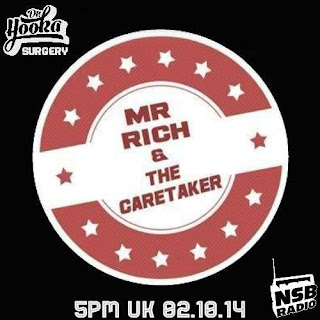 Mr Rich and The Caretaker - Doctor Hooka's Surgery Mix (2014)