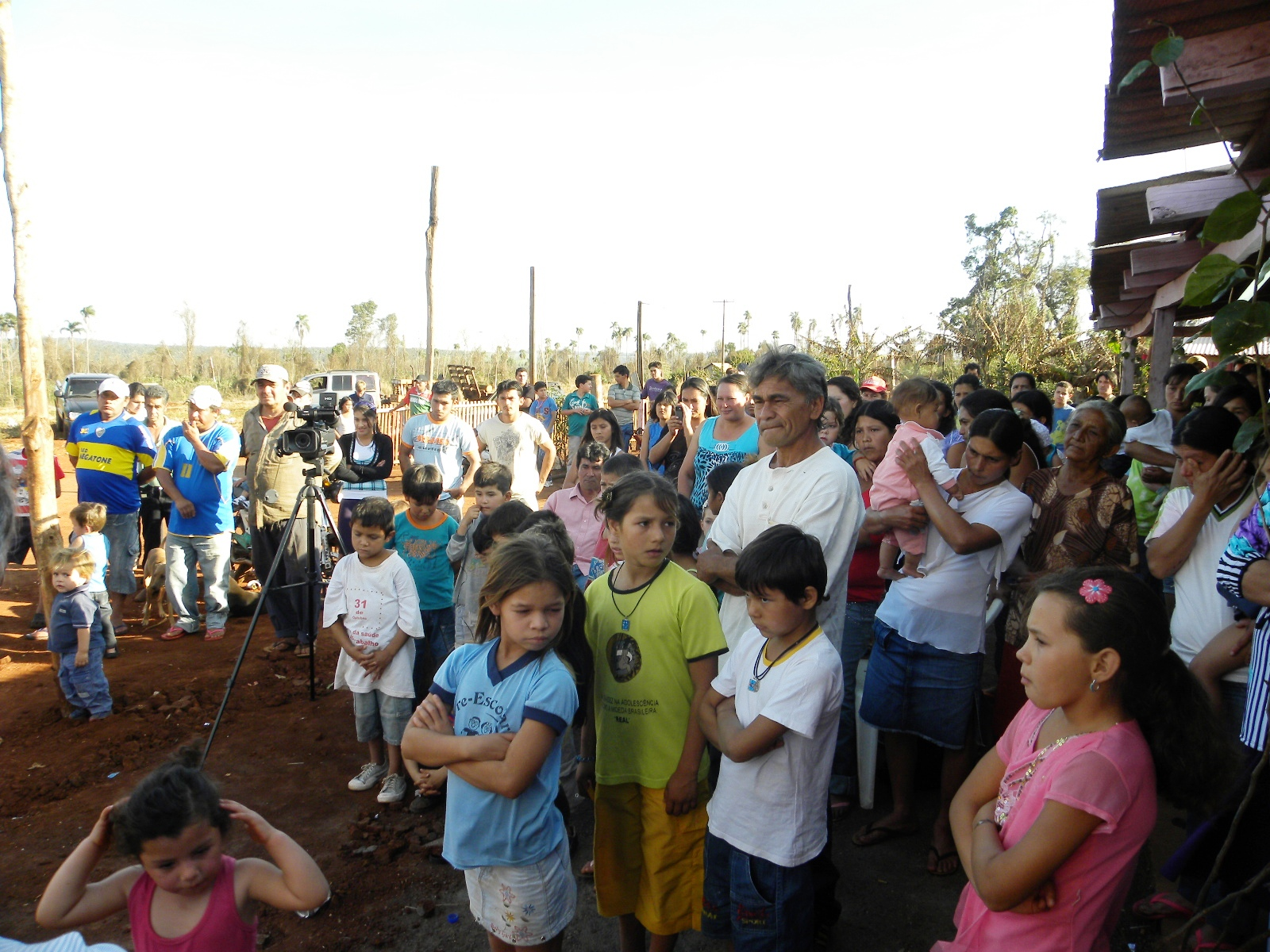 Gobernacion de canindeyu inauguraci n oficial del for Tambores para agua potable
