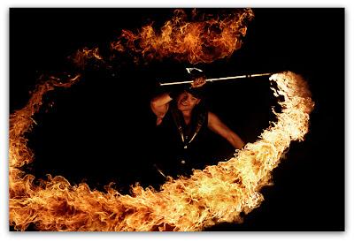 Игры с огнем: огненная плеть