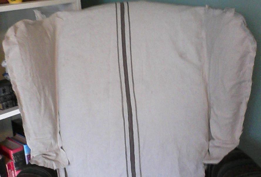 Merveilleux Tutorial: Wing Chair Slipcover