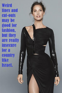 Mixing Fashion and Politics – Another Graphic Zionsim Post