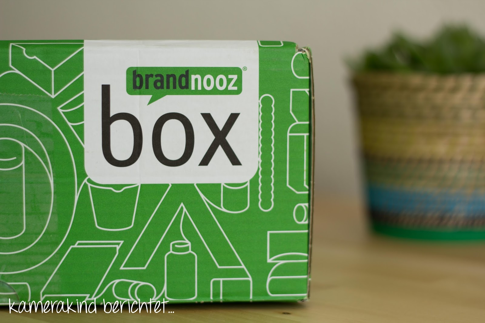 Brandnooz Box auspacken