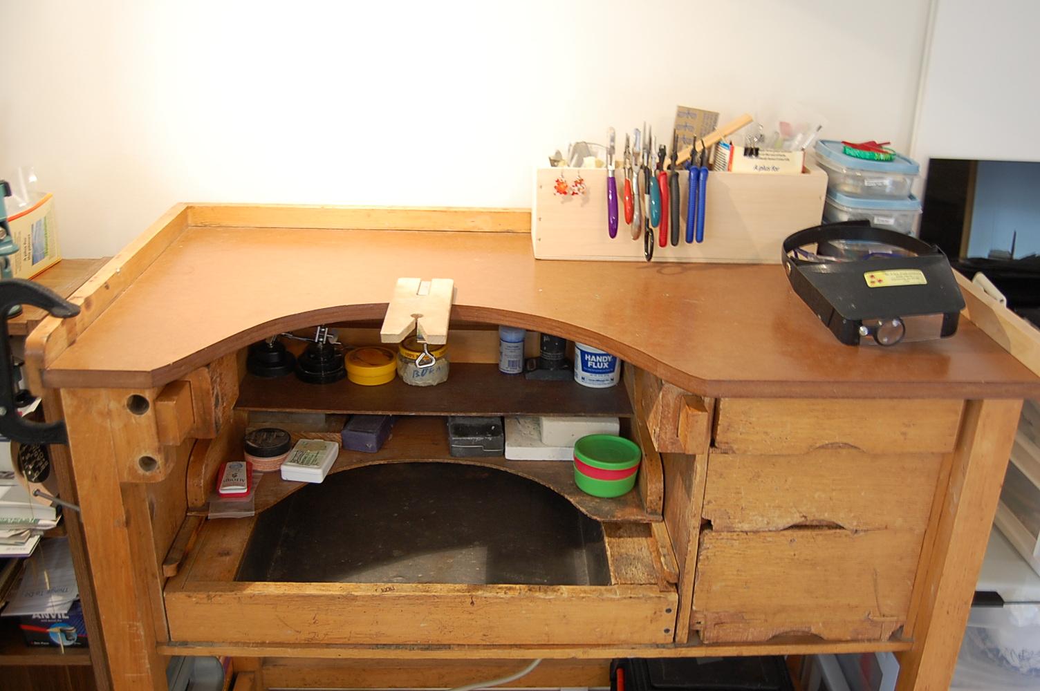 Woodwork Jewellers Bench Design PDF Plans