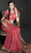 Antique Saree Blouse Designs 2013 . Party Sarees Collection 201314