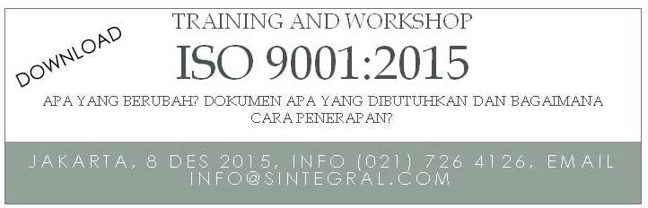 Training ISO 2015