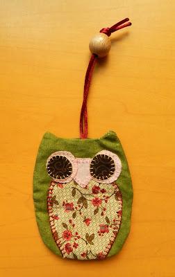 Llavero patchwork, patchwork, llavero buho, llavero buho patchwork, regalos de navidad, regalos para navidad, amigo invisible, ideas para el amigo invisible, ideas para regalar, navidad