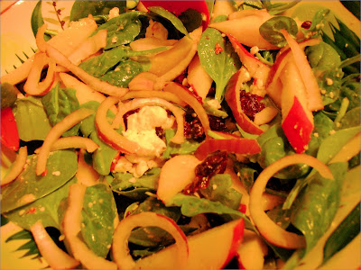 Easy Spinach Salad