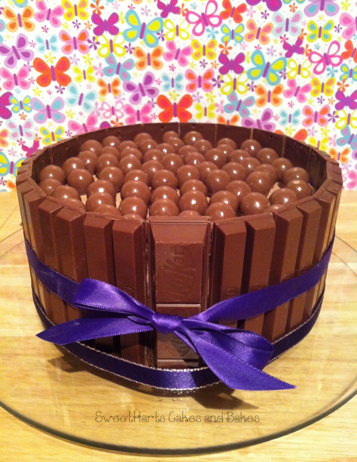 Как сделать торт из шоколадок кит кат