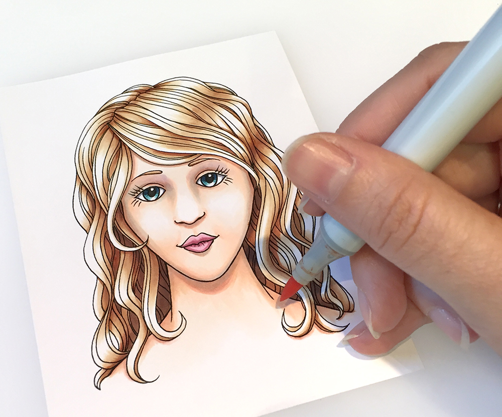 8th Coloring Faces Hair Book Workshops Main St Stamping In Tigard OR Aug 21 Flowers Tracing Memories Boulder CO