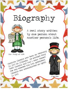 how to write a news feature biography