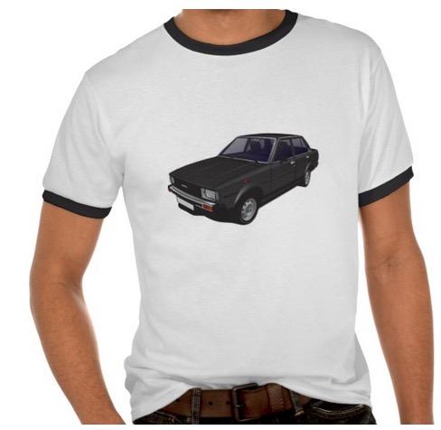 Toyota Corolla DX E70 t-shirt t-paita