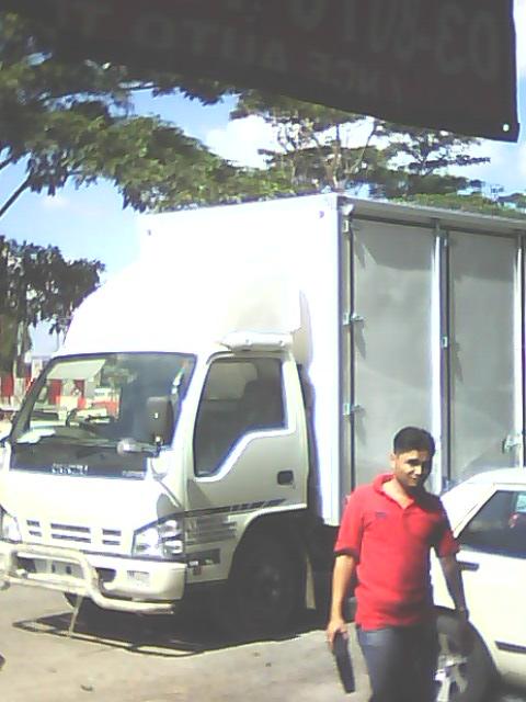 isuzu fiber box 17 kaki