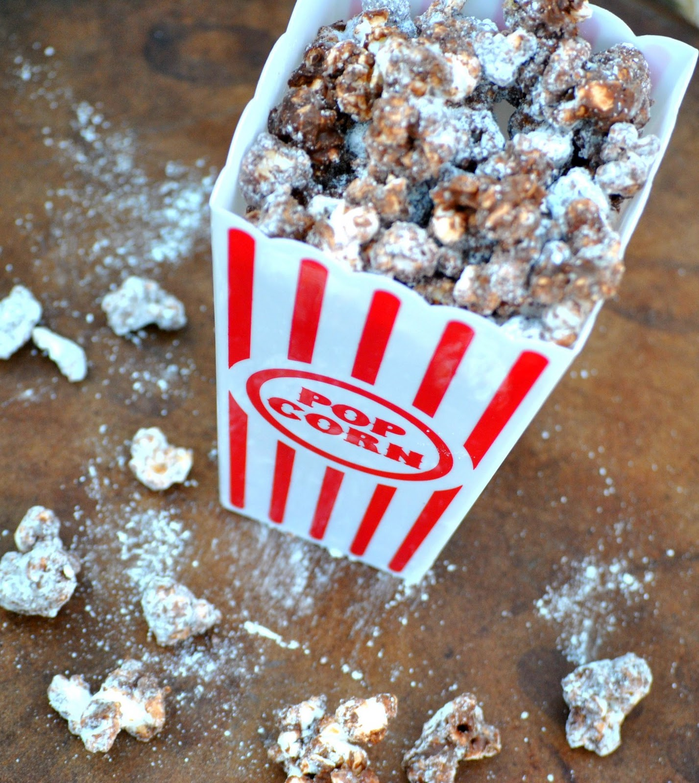 The Farm Girl Recipes: Peanut Butter Chocolate Popcorn