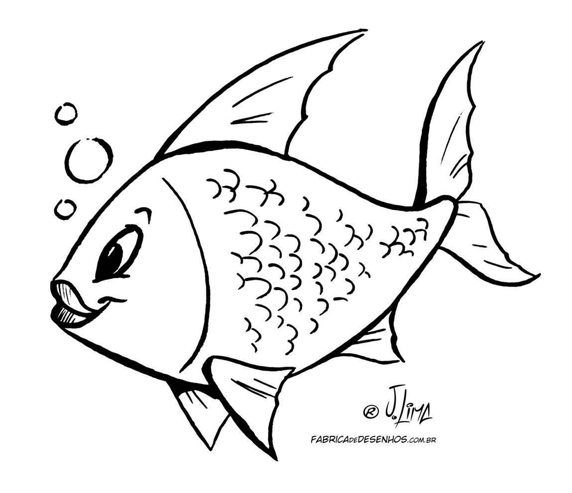 Para Colorir Peixe Para Colorir Peixe Para Colorir Peixe Para Colorir