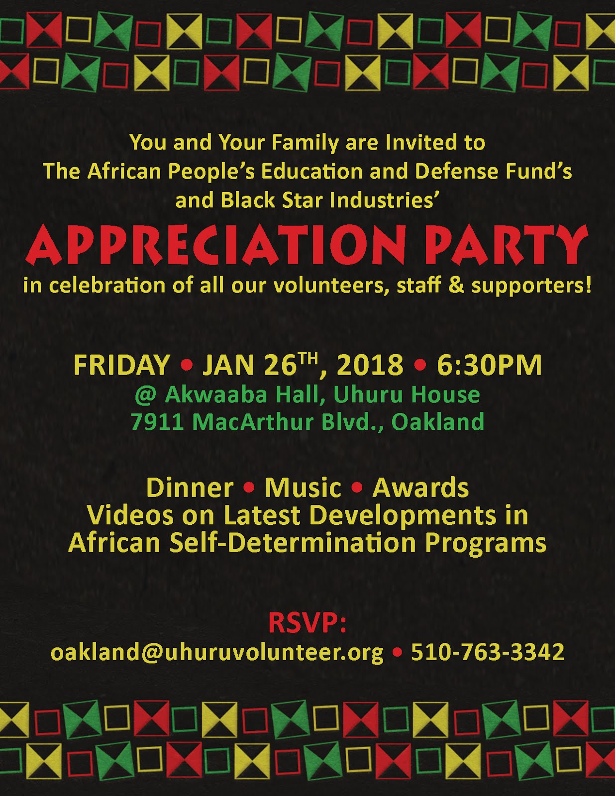 You're Invited, Friday 1/26!