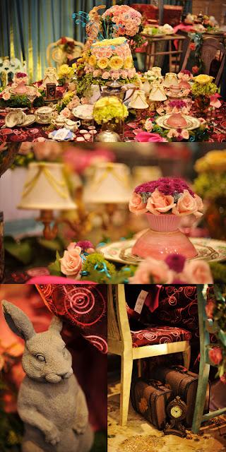Lemot Eye Candy Alert Alice In Wonderland Wedding Inspiration