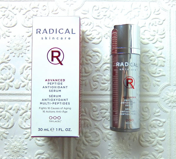 Radical Skincare Advanced Peptide Antioxidant Serum Review