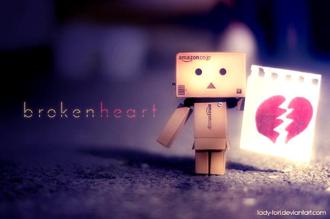 Danbo Broken Heart