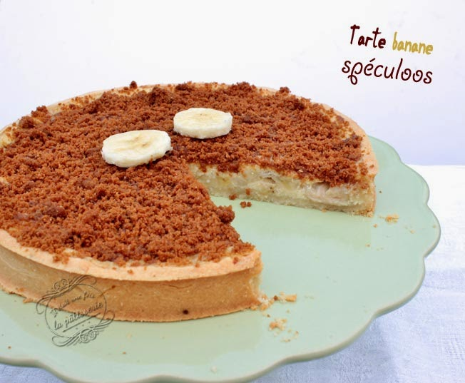 Sehr Tarte banane et spéculoos : Il était une fois la pâtisserie ZI87